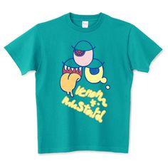 VenomMustard | デザインTシャツ通販 T-SHIRTS TRINITY(Tシャツトリニティ) Normal People, Monster Mash, Apparel Design, Monsters, Baby Kids, Mens Tops, T Shirt, Women, Fashion