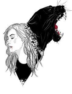 I will kill….. Carmilla Season2 fan art
