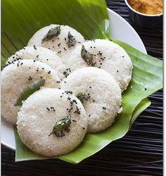 Idli.  A gluten free and vegan dish that can be had anytime, anywhere