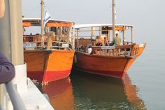 More boats on the Sea of Galilee!