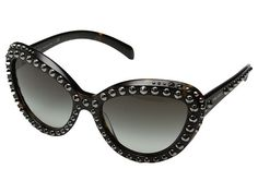 Prada 0PR 31QS Black/Gunmetal Studs - Zappos.com Free Shipping BOTH Ways