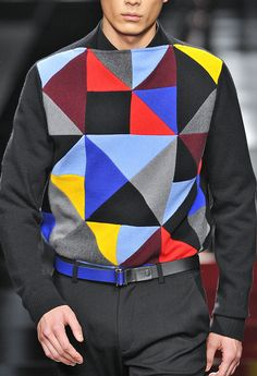 the shapes that make up the pattern are what inspire me in my designs. Milan Men's Fashion Week, Fashion 2014, Fashion Today, Image Mode, Men's Wardrobe, Men Street, Prince Charming, Men's Collection, Swagg