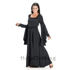 Arwen Square Neck Renaissance Medieval Princess Gown Dress - Dresses  A lot of the items on this site seem to go up to 4x or 5x. Ships from India - may or may not have to pay duty.