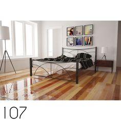 Κρεβάτι-Bed's   Τσινός Παντελής & Υιοί Ο.Ε. Metal Furniture, Bed Furniture, Metal Beds, Magazine Rack, Cabinet, Storage, Design, Home Decor, Clothes Stand