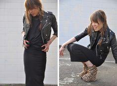 Get this look: http://lb.nu/look/318221  More looks by Amanda T: http://lb.nu/user/73427-Amanda-T  Items in this look:  Vintage Biker Jacket, Cos Top, Topshop Skirt, Topshop Wedge