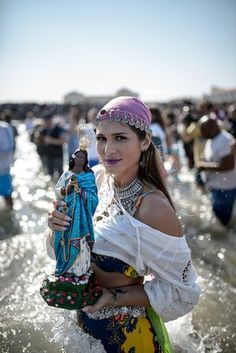 Annual Roma Pilgrimage in France to the Sea honoring St. Sarah, the daughter of Mary Magdalene and Jesus.