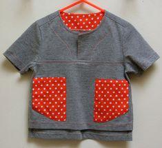 The Kieran Shirt boys pdf sewing pattern by FelicityPatterns
