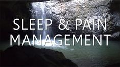 "Sleep Hypnosis for Pain Management with Relaxing Binaural Music One persons comment of this: ""Michael I just found this and I can't say thank you enough! It is helping ease my pain and I am sleeping better than I have in years! Chronic Pain, Fibromyalgia, Twitter Video, Natural Teeth Whitening, Insta Videos, Music Heals, Self Healing, Pain Management, Guided Meditation"