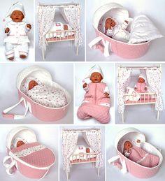 Billedresultat for baby born gratis patronen Doll Sewing Patterns, Doll Dress Patterns, Sewing Dolls, Granny Joy, Girl Dolls, Baby Dolls, Baby Born Clothes, Baby Pop, Baby Doll Nursery