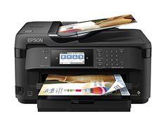 Epson WorkForce WF 7710 Wireless Color Inkjet 19 Wide Format All In One Printer Copier Scanner Fax Printer Scanner Copier, Wireless Printer, Laser Printer, Vinyl Printer, Shirt Printer, Best Printers, Home Printers, Epson Inkjet Printer, Hp Officejet Pro