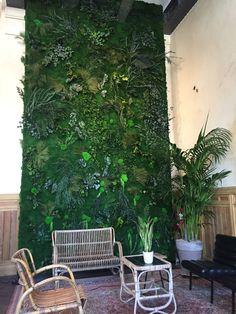 moskunst met artificiële planten wand bij De Serre realisatie Any Green Moss Fashion, Plants, Greenhouses, Flora, Plant