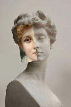 Vaporwave Art, Writing Art, Classical Art, Photomontage, Aesthetic Art, Portrait Art, Traditional Art, Collage Art, New Art
