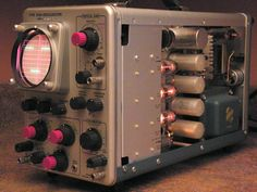 Tektronix 310 and Old Technology, Technology Gadgets, Tech Gadgets, Tube Vintage, Electronic Workbench, Hard Surface Modeling, Steampunk, Vacuum Tube, Electrical Engineering