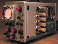 Tektronix 310 and Old Technology, Technology Gadgets, Tech Gadgets, Tube Vintage, Steampunk, Vacuum Tube, Electrical Engineering, Ham Radio, Retro Futurism