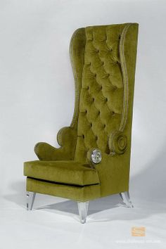 """Grand Acryliwing Lounge Chair by Shahrooz. 30"""" W x 30"""" L x 72"""" High !!!"""