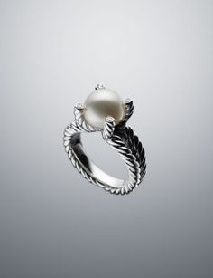 I want a pearl instead of a diamond for my wedding ring.