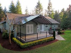 Patio Cover Designs...love The Metal Roof