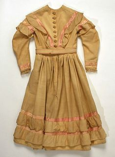 c.1870 Child's Dress | American | The Met