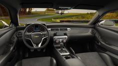 2015 Camaro Z28 Track Car: Interior Chevrolet