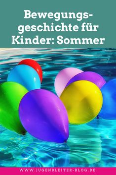 Bewegungsgeschichte für Kinder: Sommer - zum Einsatz in der Gruppenstunde, der Kita, dem Kindergarten. Ideal für Erzieher, Kindergärtner und Pädagogen. Epic Pools, Cool Pools, Kindergarten Lesson Plans, Kindergarten Teachers, Diy Crafts To Do, Stories For Kids, Feeling Happy, Anime Manga, About Me Blog
