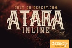 Atara Line Font – Deeezy – Freebies with Extended License