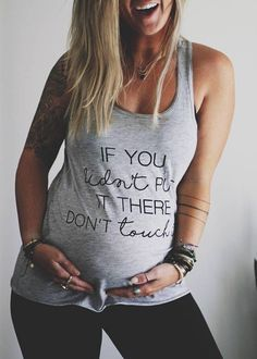 If You Didnt put it there Dont Touch It Pregnancy Announcement Shirt Off Shoulder Top Customizable Tee Mommy To Be Shirt - Maternity Shirts - Ideas of Maternity Shirts - Pregnancy Outfits, Pregnancy Tips, Pregnancy Clothes, Maternity Outfits, Pregnancy Journal, Pregnancy Belly, Maternity Tshirts Funny, Fall Maternity Fashion, Yoga Pregnancy
