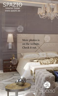 Royal Luxury Master Bedroom Interior Design For A Palace House Or