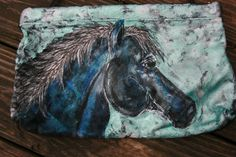 Horse PurseBlank Suede Horse Bag... One of a Kind by LuckyHArt