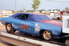 Drag Racing - Funny Car - The Color Me Gone Dodge Charger Funny Car Drag Racing, Nhra Drag Racing, Funny Cars, Auto Racing, Car Trailer, Vintage Race Car, Drag Cars, Vintage Humor, Car Humor