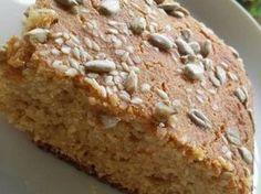 Pan de harina de garbanzos y avena integral