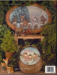 Album Archive - Little Foot Prints - Carol Forsyth Decorative Painting Projects, Tole Painting Patterns, Paint Patterns, Decorative Paintings, Pintura Country, Christmas Paintings, Christmas Art, Pyrography Patterns, Folk Art Flowers