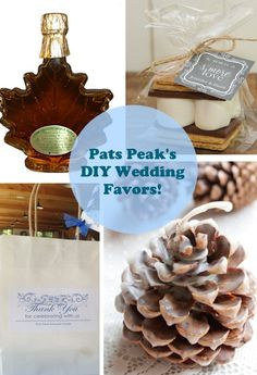 wedding favors DIY | DIY Wedding Favors to REALLY Thank your Guests!