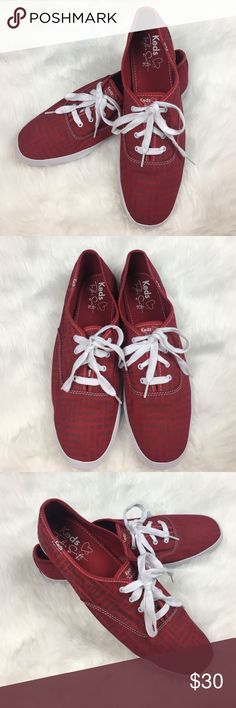 Taylor Swift Red Keds Taylor Swift Red Keds. Size 13. Like new!!! No trades Offers welcomed! Keds Shoes Sneakers