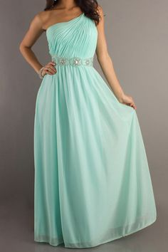 Big Discount Evening Dresses One Shoulder Sheath/Column Color:Just As Picture Show,Size:2 Xin837