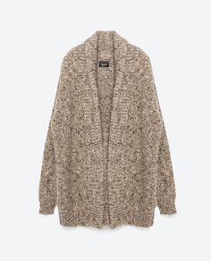 Zara Oversized Cardigan, $129; zara.com - ELLE.com