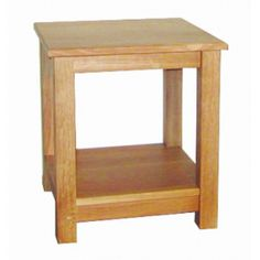 Lacar Solid Oak Small Lamp Table  www.easyfurn.co.uk Solid Oak Furniture, Oak Panels, Lamp Table, Drawer Fronts, Simple Lines, Projects, Home Decor, Log Projects, Table Lamps