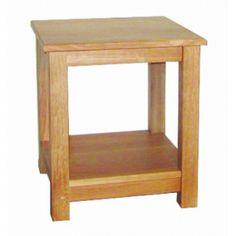 Lacar Solid Oak Small Lamp Table  www.easyfurn.co.uk