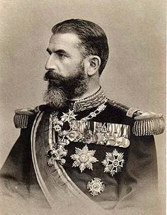 October 1914 - Death of Carol I, King of Romania Pictured - Carol I, first Romanian king of the Hohenzollern-Sigmaringe dynasty. Born Prince Karl at at time when Romania was still part of the Ottoman Empire, Carol ascended to the throne in. Queen Mary, King Queen, World War One, Old World, Romanian Royal Family, Romania Travel, Ludwig, Kaiser, Ottoman Empire