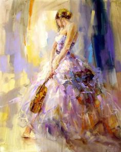 Anna Razumovskaya flirting With A Violin painting is shipped worldwide,including stretched canvas and framed art.This Anna Razumovskaya flirting With A Violin painting is available at custom size. Violin Painting, Violin Drawing, Violin Art, Anna Razumovskaya, Art Abstrait, Beautiful Paintings, Amazing Artwork, Belle Photo, Love Art