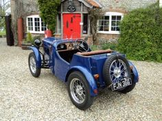 Austin Seven Special. Beautiful two seater sports (1937) ===>  https://de.pinterest.com/jacoet40/british-made-motors/