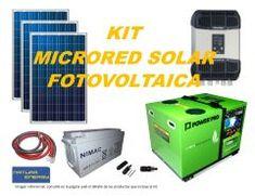 Kit Microred Solar Fotovoltaica 4000VA Full Tape, Kit, Solar Power, Duct Tape, Band, Ice