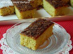 Chcete-li kakaově-kokosovou verzi, odeberte z mouky 20 - a doplňte kakaem a… Czech Recipes, My Recipes, Favorite Recipes, Ethnic Recipes, Coconut Dream, Sweet Cakes, Creative Cakes, Izu, Food Dishes