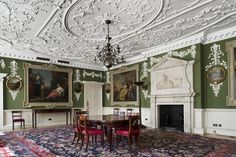 Lines of Beauty: Rococo Plasterwork and the Art of Geoffrey Preston - BSECS