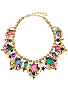 Bejeweled Statement Necklace / RJ GRAZIANO