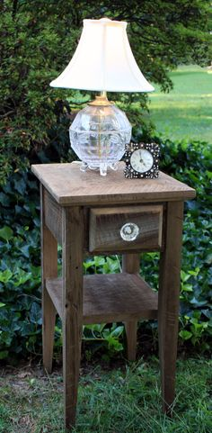 Night Stand Rustic Nights Reclaimed Wood by natureinspiredcrafts, $300.00