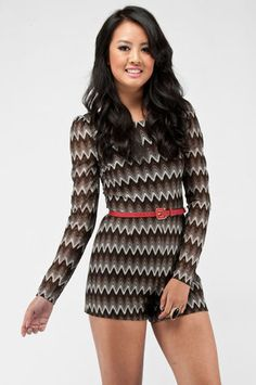 Get A Pulse Jumpsuit in Black Multi $46 at www.tobi.com