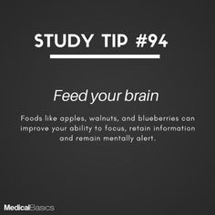 Image may contain: text that says 'STUDY TIP Get regular exercise According to studies, 15 minutes of exercise can improve your memory memory and the ability to think clearly. Study Motivation Quotes, Study Quotes, Student Motivation, Daily Motivation, Nursing School Motivation, Exam Motivation, School Life Hacks, School Study Tips, School Tips