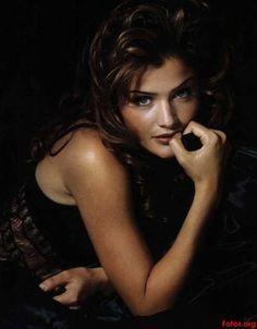 Helena Christensen, Saul Leiter, Glamour, Vogue Australia, Supermodels, High Fashion, Crochet, Couture, Top Models