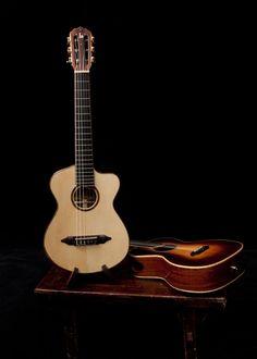 Custom Pau Ferro Kīkū, Lichty Guitars version of a Guitalele