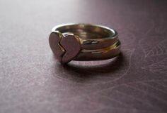 Broken Heart Rings